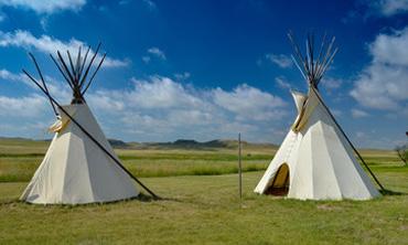 Camping en tipi