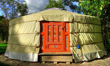 Camping en yourte